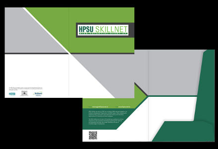 Design for HPSU Skillnet folder