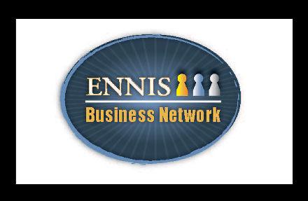 Logo design for Ennis Business Network