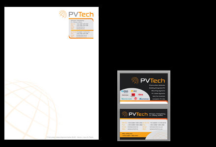 PV Tech stationery