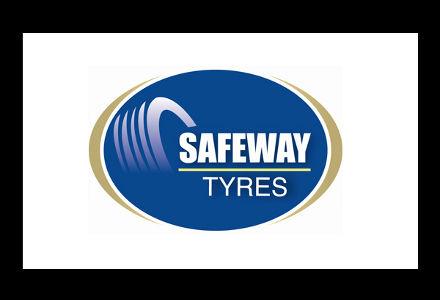 Logo for Safeway Tyres
