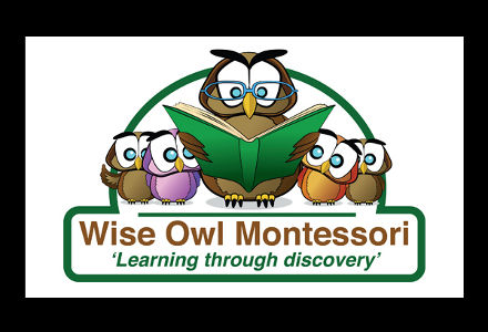 Logo design for Wiseowl Montessori