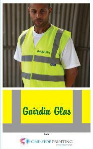 Hi-vis jackets for Gairdín Glas