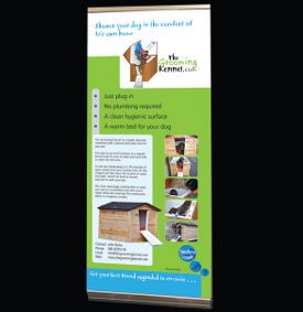 Pop up banner for The Grooming Kennel