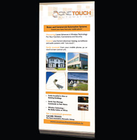 Pop up banner for Onetouch