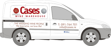 Cases Wine Warehouse Vehicle Graphics